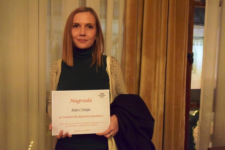 Dodjela Nagrade za volontere i organizatore volontiranja