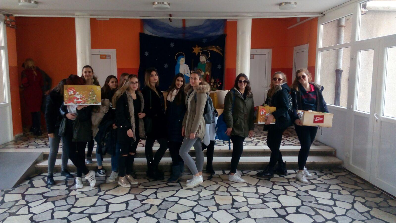 Razvoj volonterskog programa kao dio školskog kurikuluma
