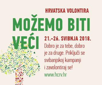 Prijavite svoju akciju na Hrvatska volontira! 2018